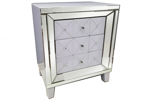 Glass Night Stand