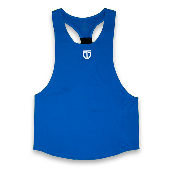 Poly Spandex Blue Stringer