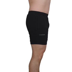 Aesthetic sweat shorts - side