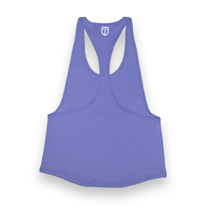 Women's Open-Back Poly Stringer - Pastel Purple