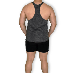 Poly stringer singlet back