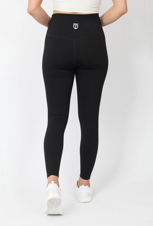 Women's Ultra High Waisted Ankle Leggings - Black