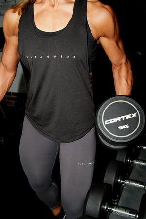 black stringer front