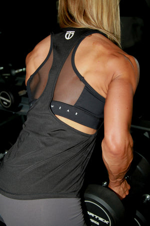 black stringer back