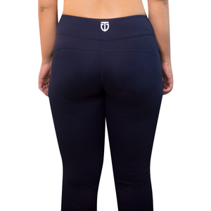 navy blue leggings back