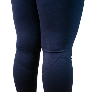 navy blue leggings calves