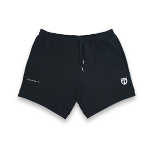 Aesthetic sweat shorts - front