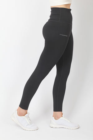 Women's Ultra High Waisted Ankle Leggings - Dark Grey