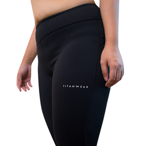 Titanwear nylon leggings - side
