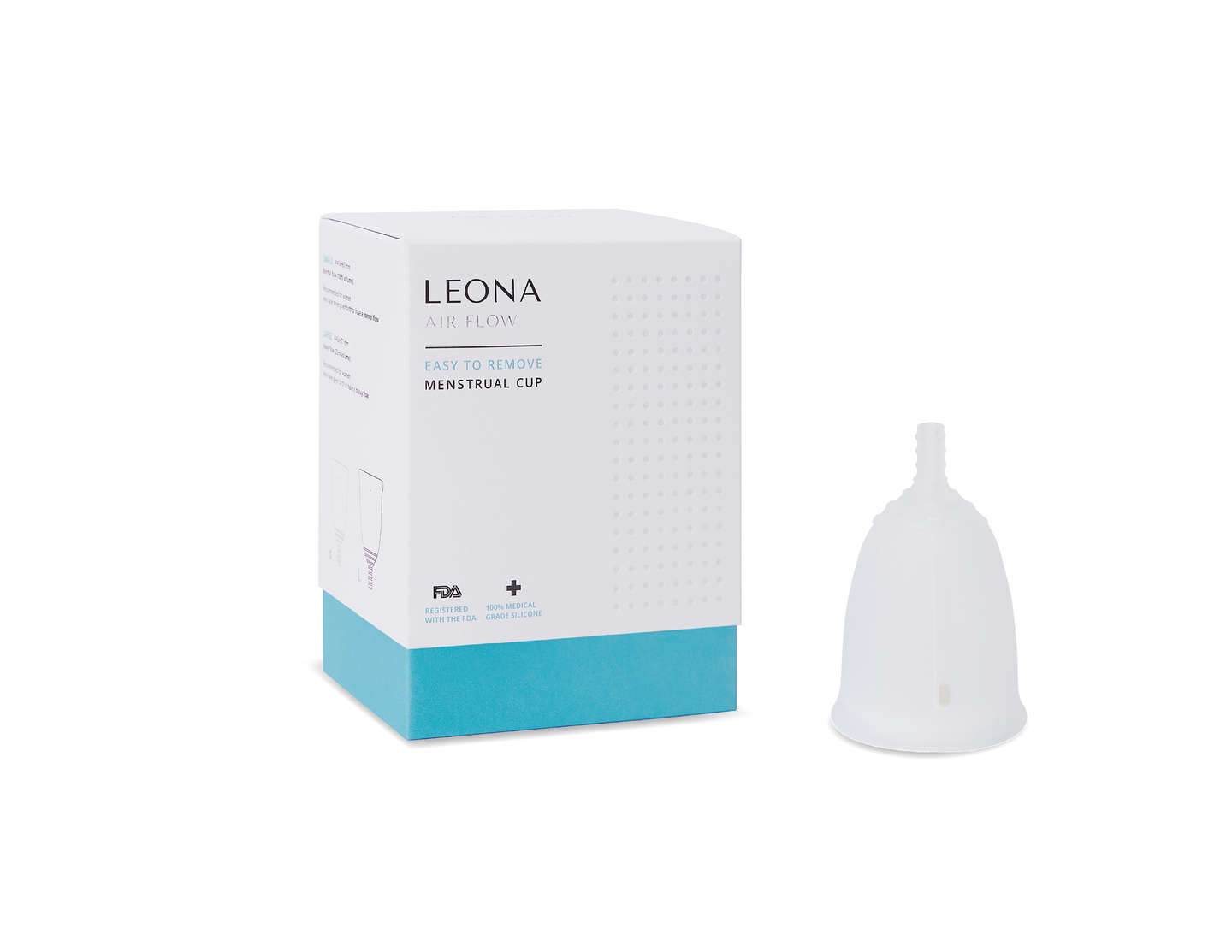 LEONA AIR FLOW - EASY TO REMOVE MENSTRUAL CUP