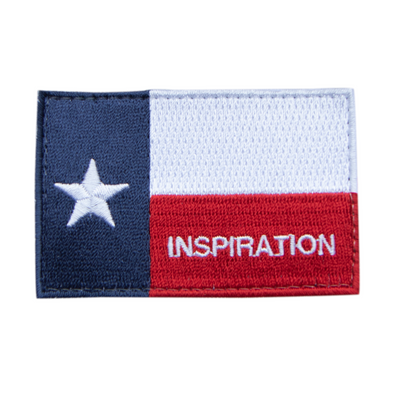 Inspiration Skateboard Texas Patch