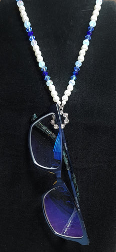 Convertible Eyeglass Chain/Charm Necklace ~ Christmas Jewelry