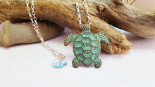 Sea Turtle Necklace ~ Sacred Totem Turtle Necklace ~ Jewelry For A Cause