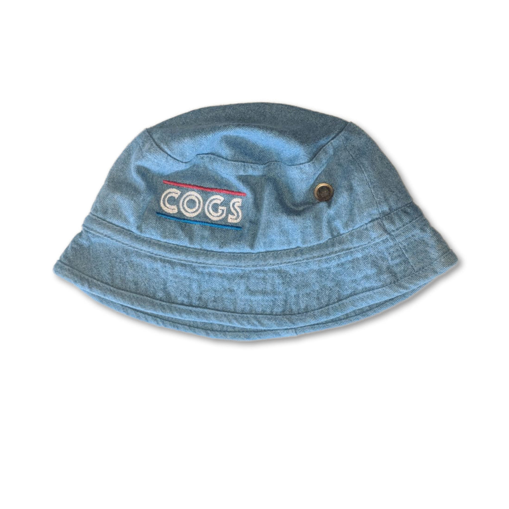 HQ Streetwear Bucket Hat Ice Blue - View 1 | Cogs