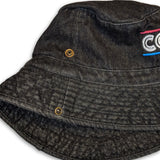 Lines Streetwear Bucket Hat Gravel Black - View 2 | Cogs