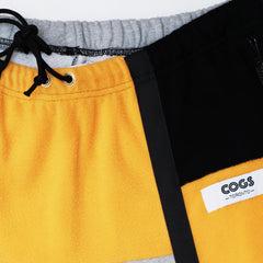 Cogs Shop | Don't Watch Face | Scarborough Uniform Sweatpants fabric close up