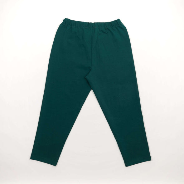 Cogs Shop | The First Summer | Panelled Carrot Cut Cropped Pants back