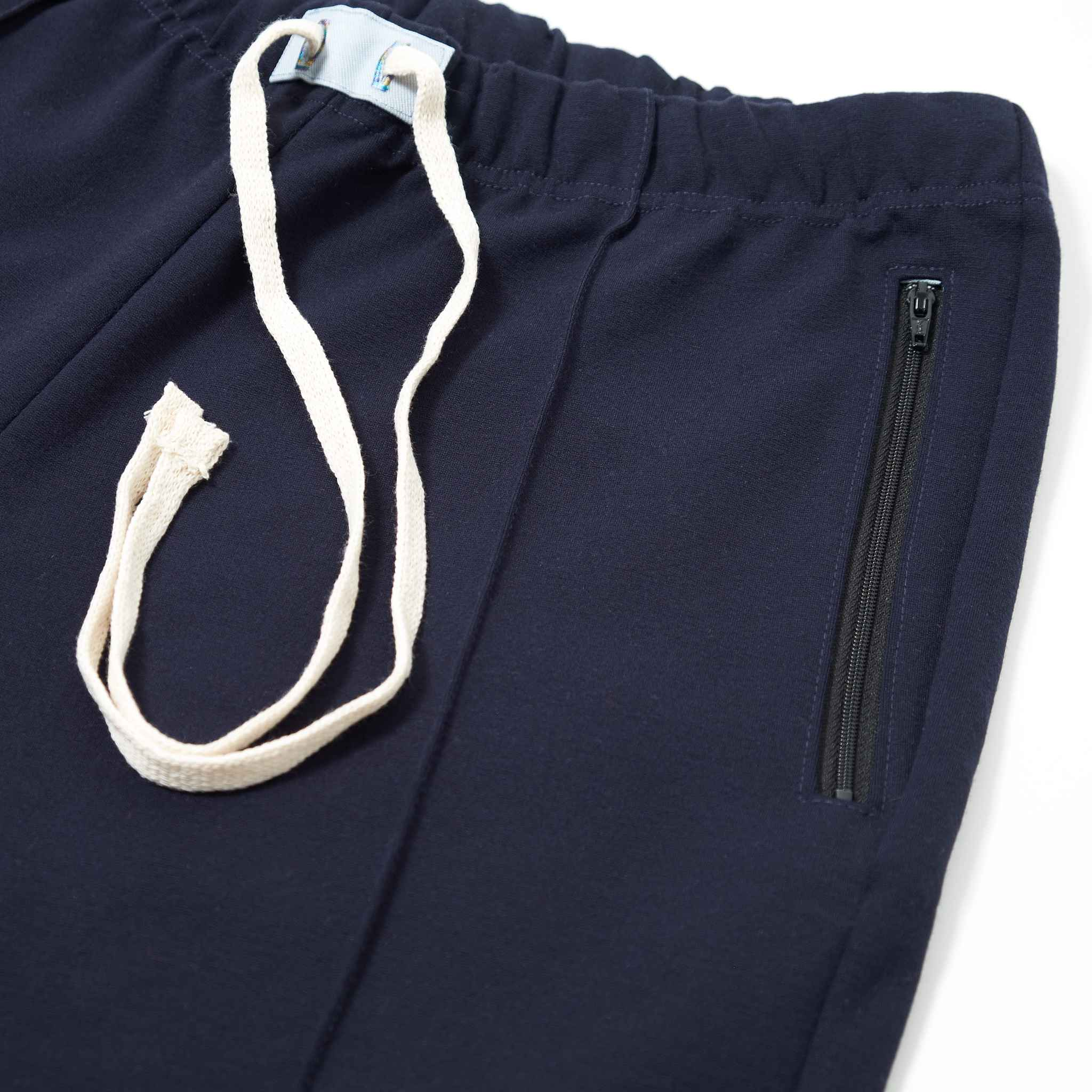 Cogs Shop | The First Summer | Cropped Pin Tuck Pants zip pocket