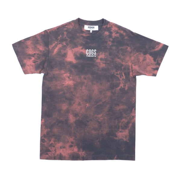 Cogs Shop | The First Summer | Tie Dye T-Shirt front