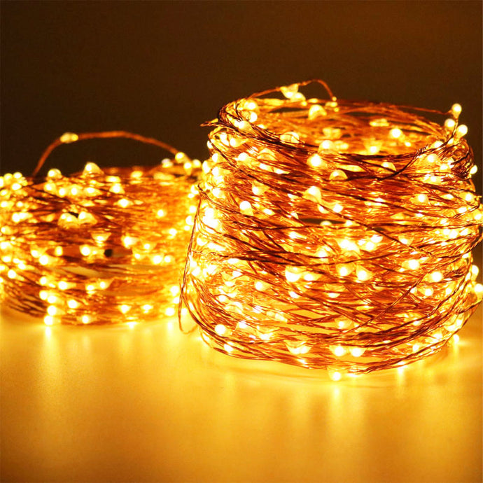 Twinkly Copper Wire LED Lights