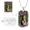 Add a Photo and Personalize It! - Chain & Dog Tag