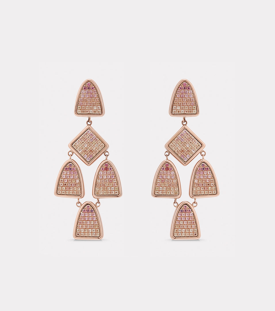 Almack Short Chandelier Earrings