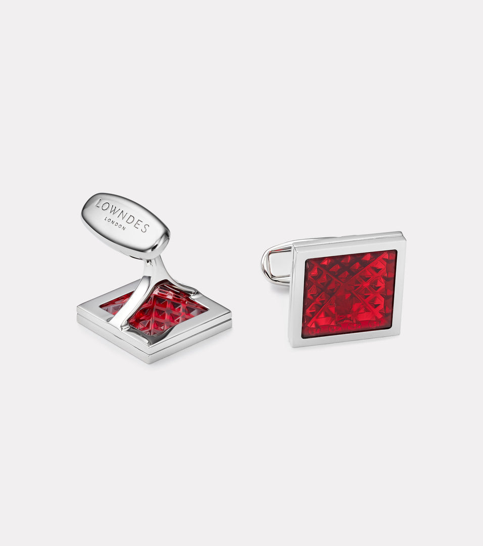 Leighton Enamel Cufflinks