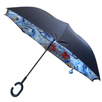 Jonique Designer Umbrella Inverted-Springtime