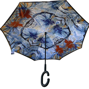 Jonique Designer Umbrella Reverse Windproof-Springtime