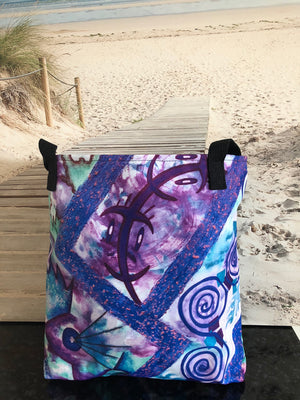 Beach Bag Designer Jonique Look-@-Mee Blu