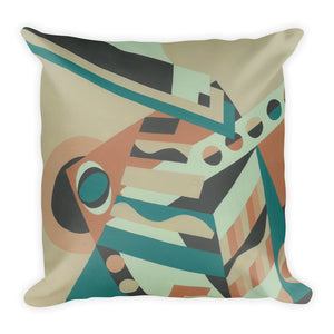 Jonique Geometric Cushion Square Back