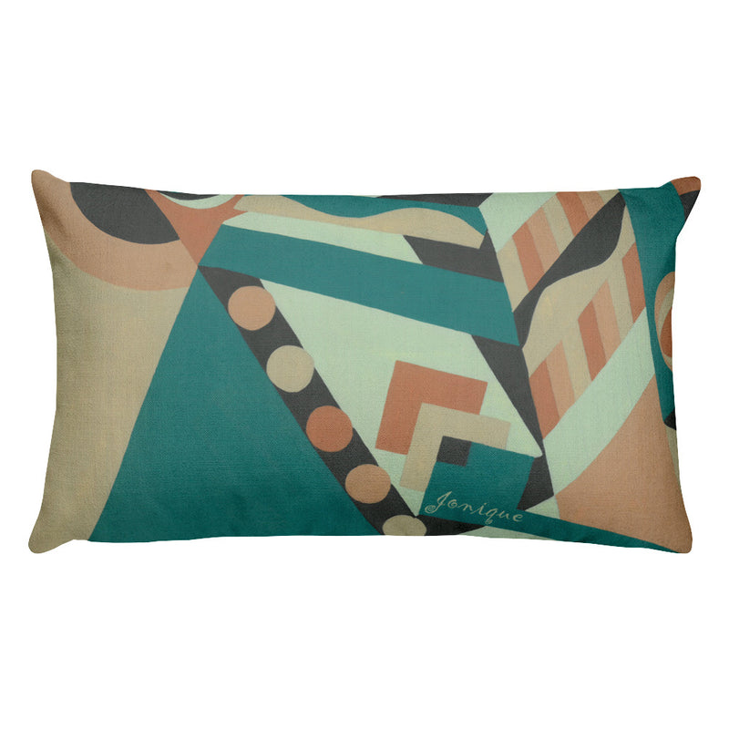 Jonique Geometric Cushion Rectangular Back