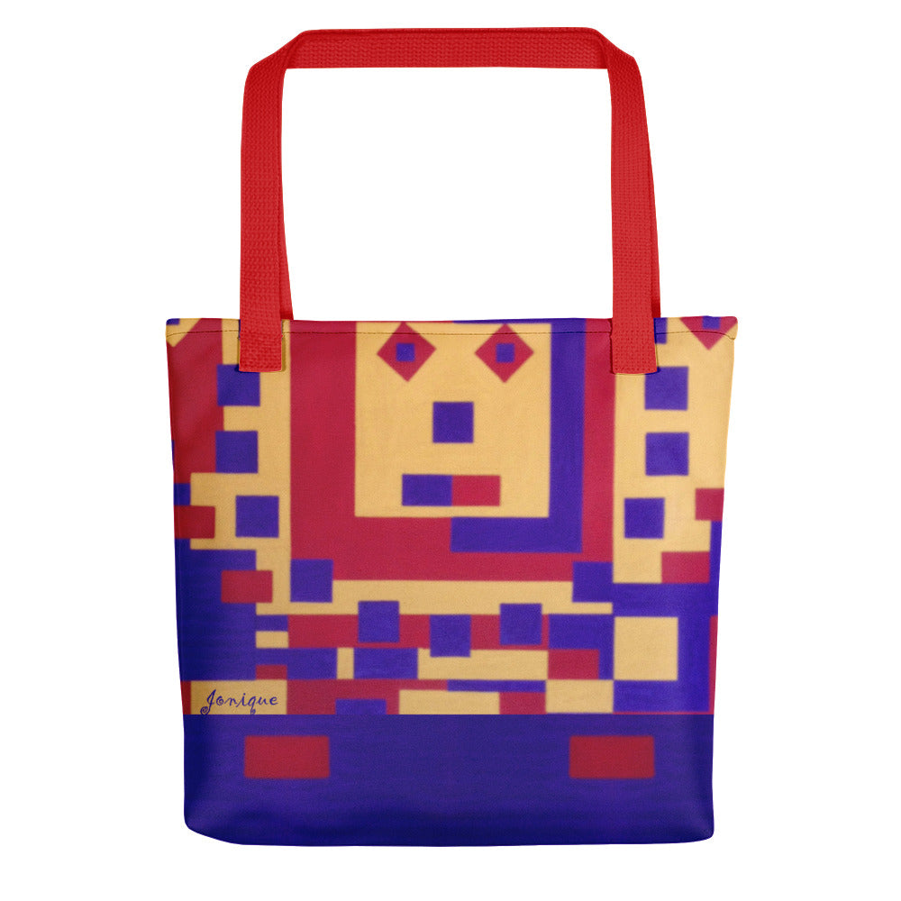 Jonique Look-@-Mee Babe Tote Red