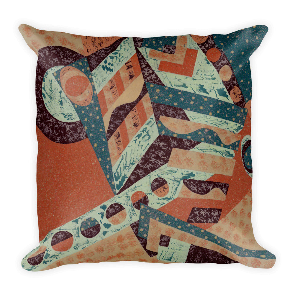 Jonique Geometric Textured Cushion Square Front