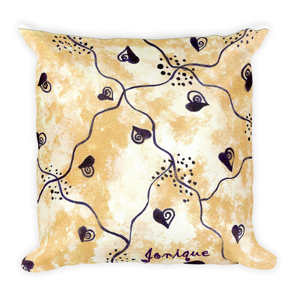 Jonique Royale-V Love Cushion-Front