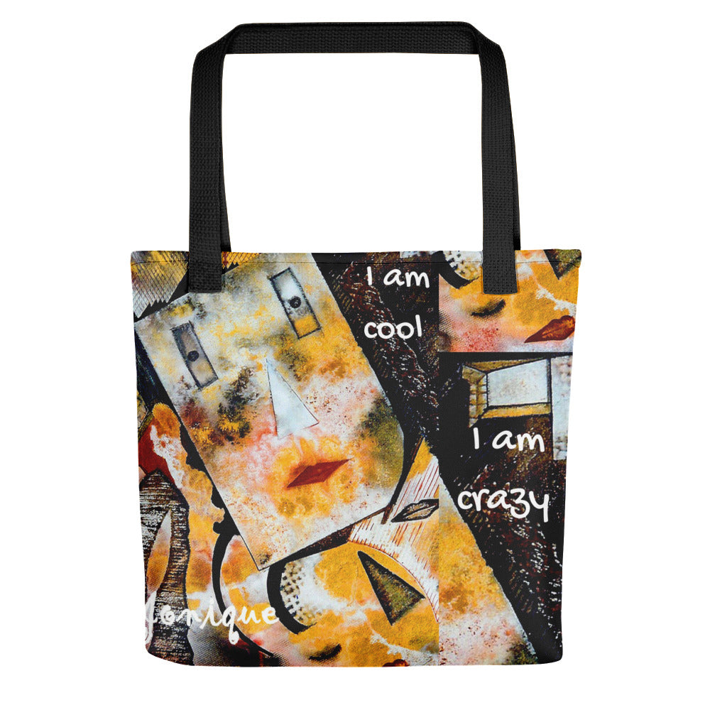 Jonique Look-@-Mee Crazy Tote Front