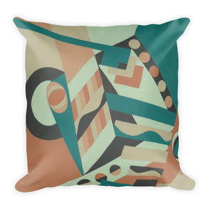 Jonique Geometric Cushion Square Front