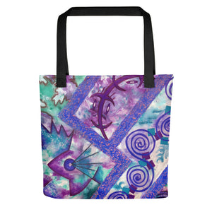 Jonique Look-@-Mee Blu Tote