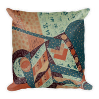 Jonique Geometric Textured Cushion Square Back