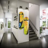 Alternate Reality Wall Mounted Designed Skateboards (3pcs)