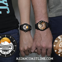 Adventure Awaits Collectors Edition Black Fashion Watch