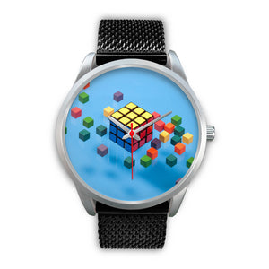 Cube Decoded Fashion Watch