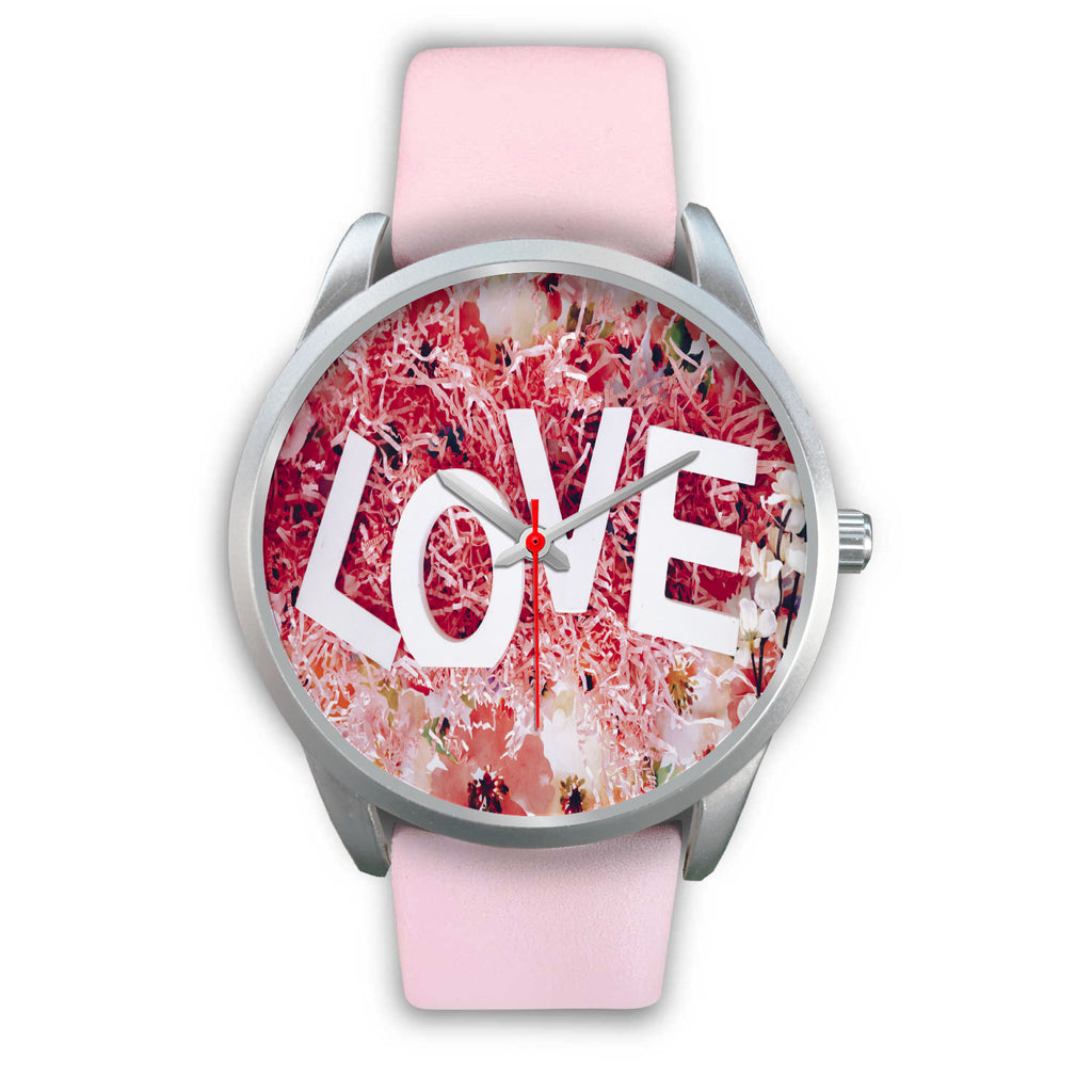 LOVE O'CLOCK Elite Series Silver Fashion Watch