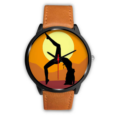 Yoga Time Keeper Collectors Edition Black Fashion Watch