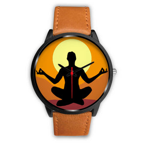 Yoga Peace Keeper Collectors Edition Black Fashion Watches