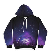 Look Up Super Soft Premium Hoodie