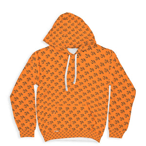Enlightened Collection Orange Super Soft Premium Hoodie