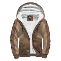 Wild Hearts Horse Love Sherpa Super Soft Zip Hoodie
