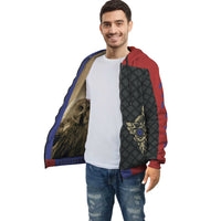 Owlsome Namaste Super Soft Multi Color Zip Hoodie