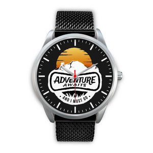 Adventure Awaits Collectors Edition Silver Fashion Watch